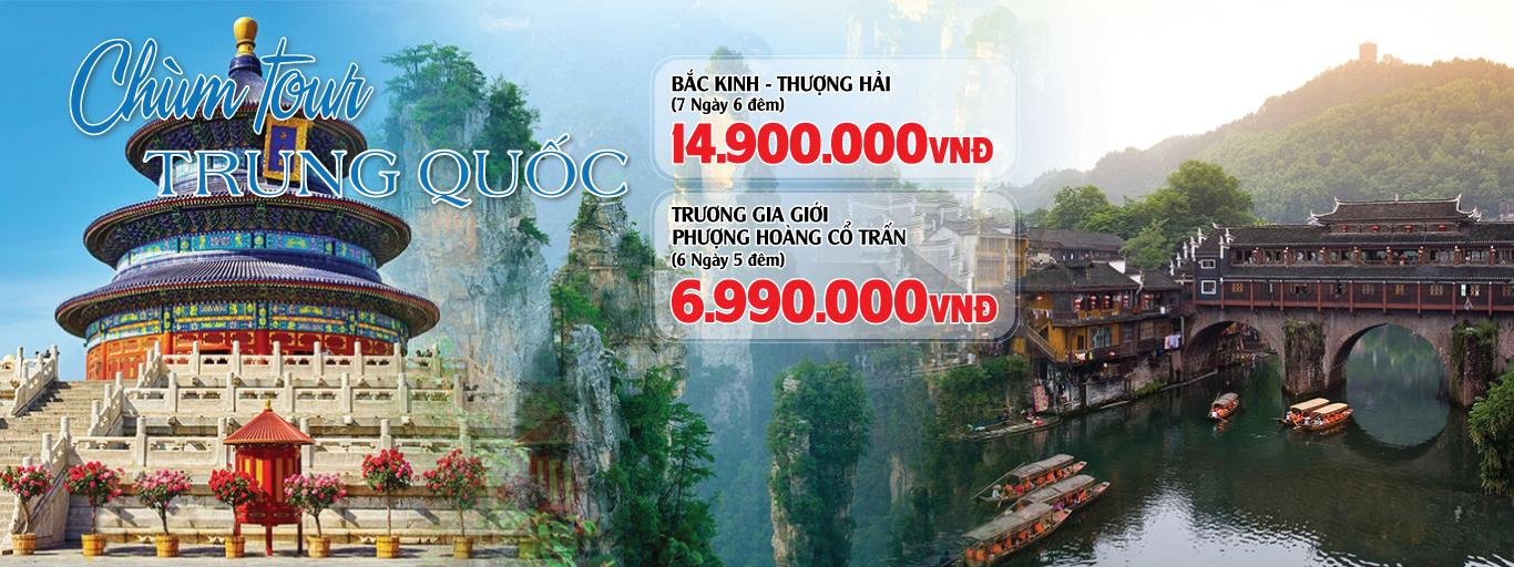 CHÙM TOUR TRUNG QUỐC