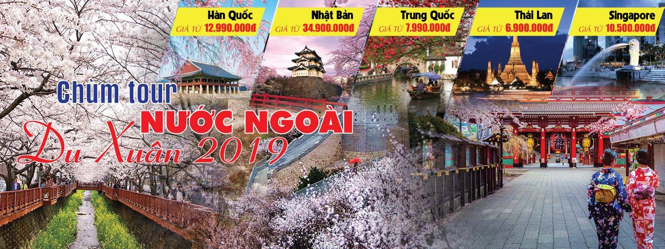 CHÙM TOUR NƯỚC NGOÀI NOEL & NĂM MỚI 20119